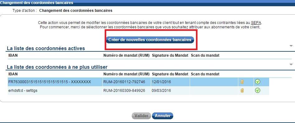 Enregistrer Modifier Les Coordonnees Bancaires Rib Iban De Mon